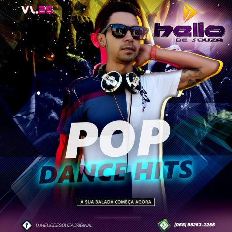 CD Pop Dance Hits 25 – DJ Helio De Souza