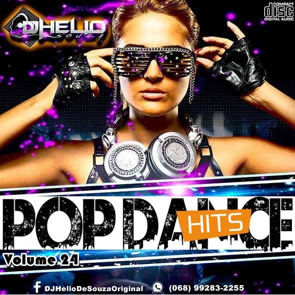 CD Pop Dance Hits Vol.24 – DJ Helio De Souza 2017