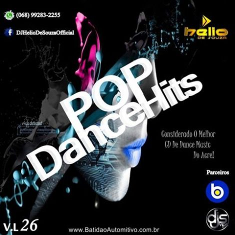 CD Pop Dance Hits 26 – DJ-Helio De Souza
