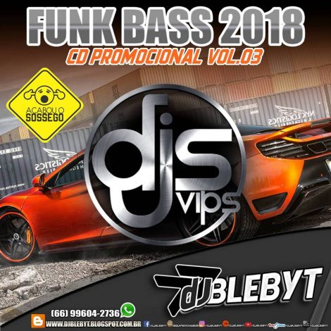 CD FUNK BASS PROMOCIONAL VOL 3-DJ BLEBYT