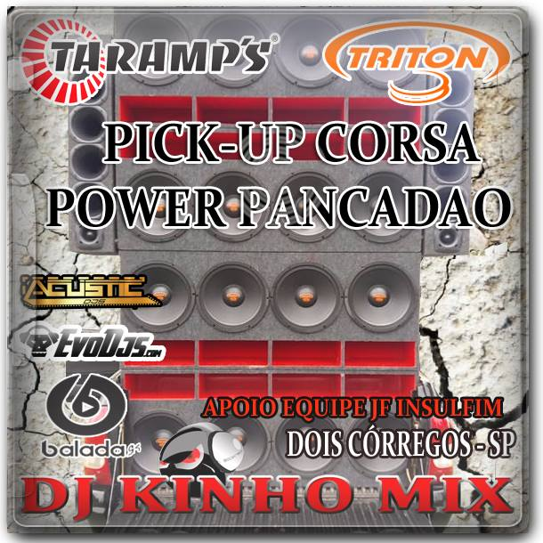 CD Pick Up Corsa Power Pancadao 2017-DJ Kinho Mix