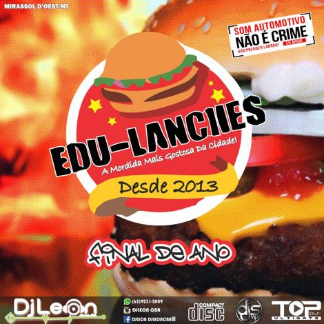 CD EDU LANCHES ESP.FINAL DE ANO-Dj Leon Cba-MT