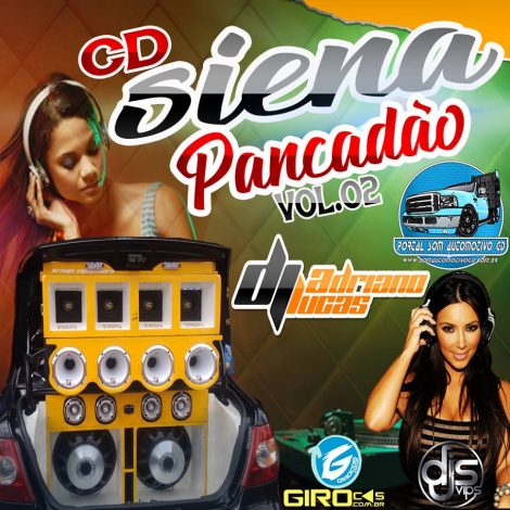Cd Siena Pancadao vol 02 – By DJ adriano lucas 2018