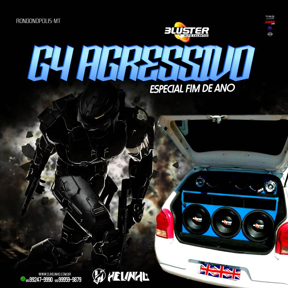 CD G4 Agressivo do Pop Especial Fim de Ano