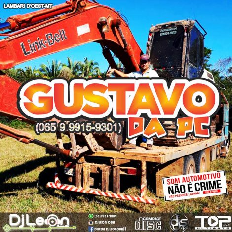 CD GUSTAVO DA PC NA BAGUNÇA VOL.02-Dj Leon Cba-MT