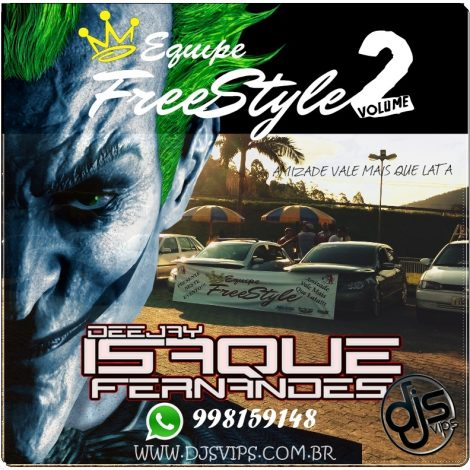 Cd da Família FreeStyle Volume 2-Dj Isaque Fernandes