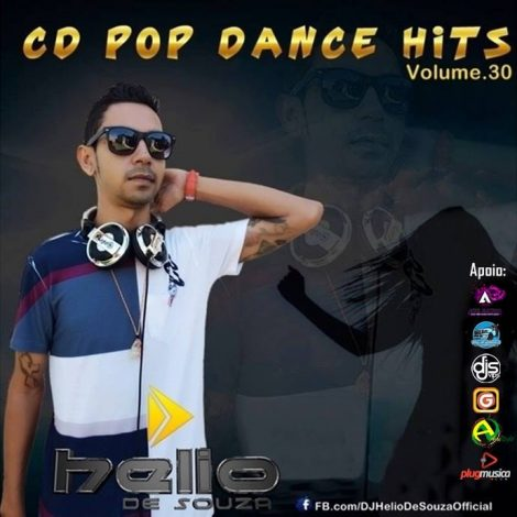 CD Pop Dance Hits 30-DJ-Helio De Souza