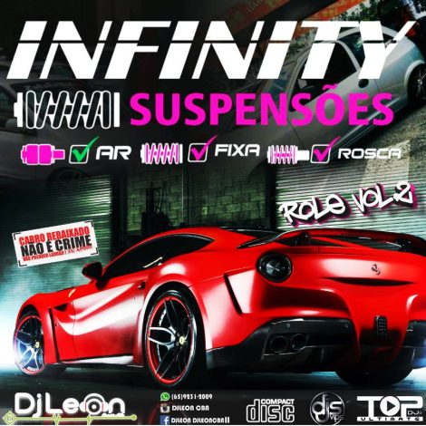 CD INFINITY SUSPENSOES NO ROLÊ VOL.02-Dj Leon Cba-MT