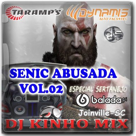 CD Senic Abusada 2018 Vol 02 DJ Kinho Mix