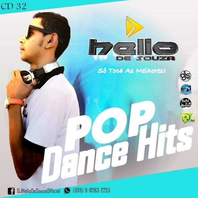 CD Pop Dance Hits Vol.32 – DJ Helio De Souza