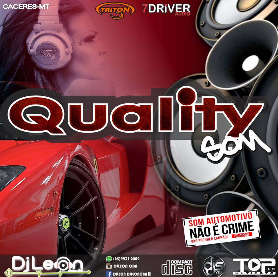 CD QUALITY SOM ESP.SERTANEJO-Dj Leon Cba-MT