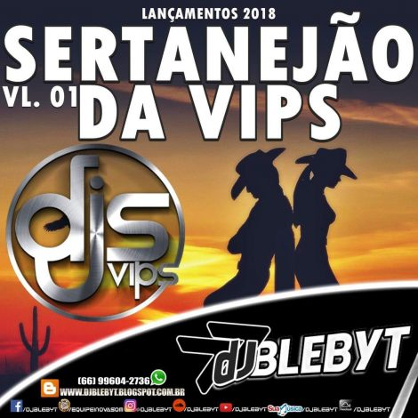 CD SERTANEJÃO DA VIPS – VOL.01