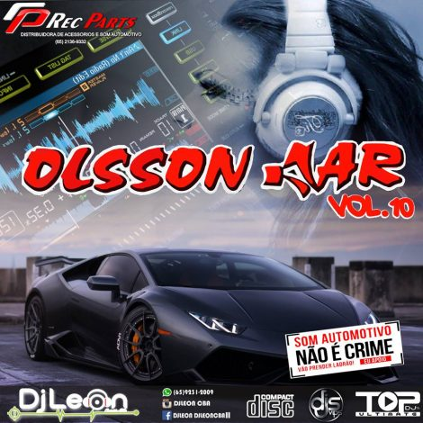 CD OLSSON CAR EDIÇAO DANCE VOL.10-Dj Leon Cba-MT