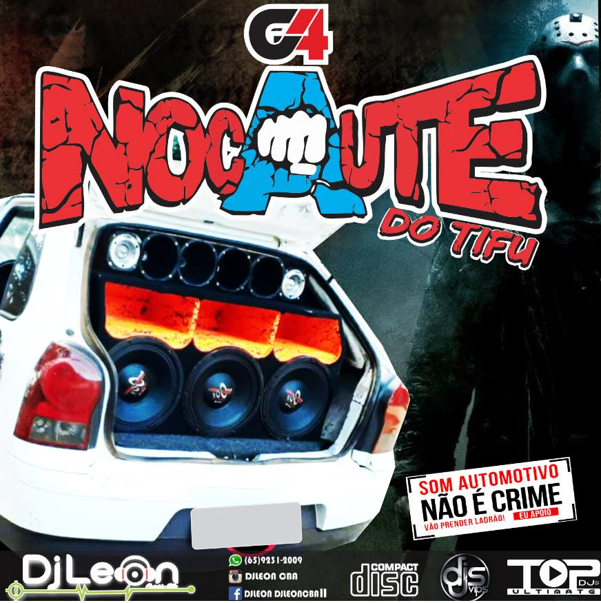 CD G4 NOCAUTE DO TIFU VOL.02- Dj Leon Cba-MT