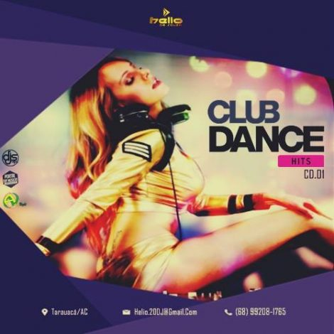 CD  Club Dance Hits – Volume 01 – Dj Helio de Souza