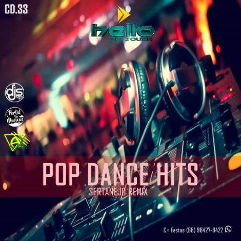 CD Pop Dance Hits Vol.33 – DJ Helio De Souza 2018