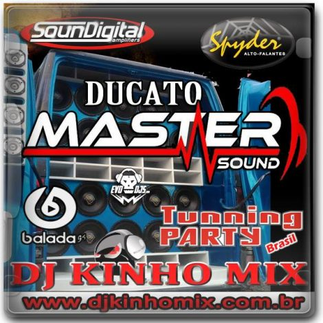 CD Ducato Master Sound 2018 Indaial SC DJ Kinho Mix