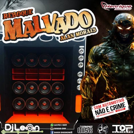 CD REBOQUE MALVADO ESP.FUNK VOL.03-Dj Leon Cba-MT