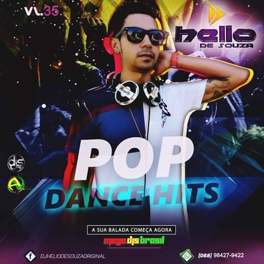 CD Pop Dance Hits Vol35 – DJ Helio De Souza