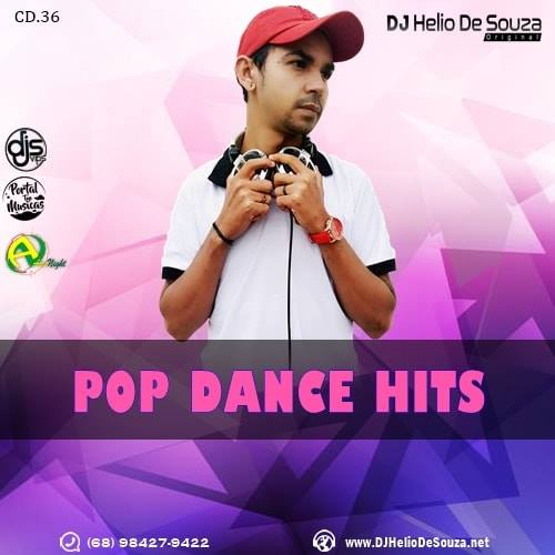 CD Pop Dance Hits Vol36 – DJ Helio De Souza