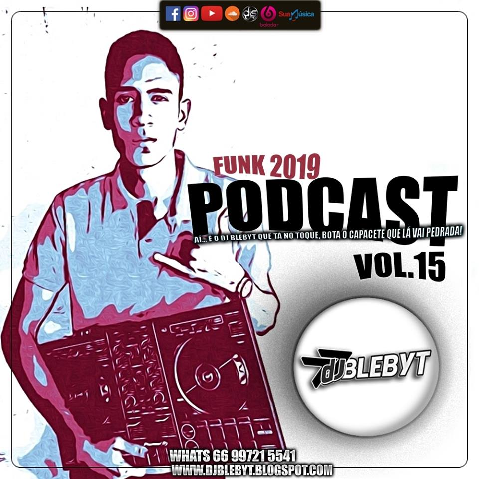 CD PODCAST FUNK – DJ BLEBYT #15 – 2019