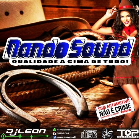 CD NANDO SOUND SERTANEJO 2K19- Dj leon Cba