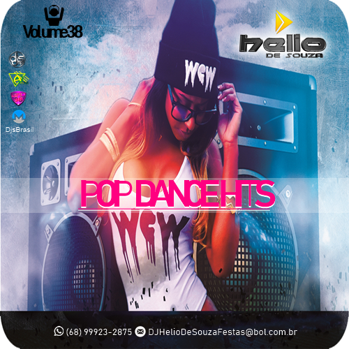 CD Pop Dance Hits Vol38 – DJ Helio De Souza