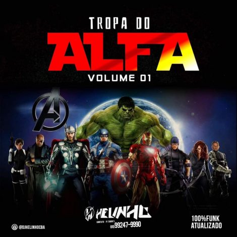 CD Tropa do Alfa – Volume 01