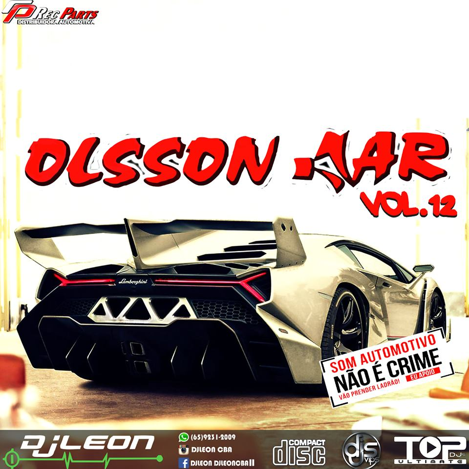 CD OLSSON CAR ESP. BALADA VOL 12- Dj Leon Cba-MT