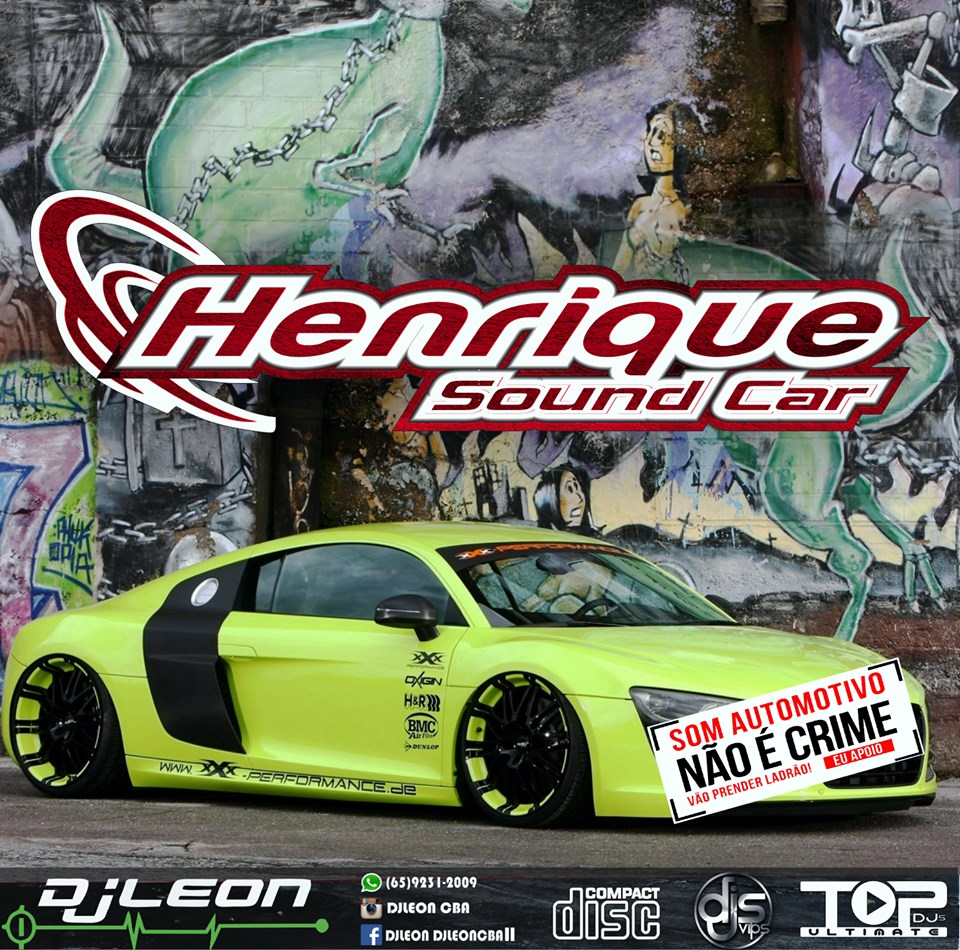 CD HENRIQUE SOUND CAR ESP. FUNK LIGHT- Dj leon Cba