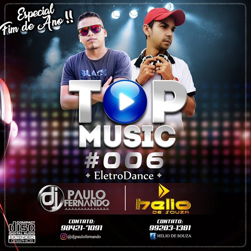 CD Top Music #006 EletroDance – DJ Helio De Souza