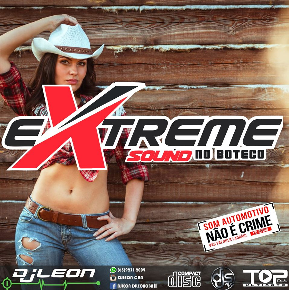 CD XTREME SOUND ESP. NO BOTECO-Dj Leon Cba-MT