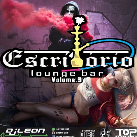 CD ESCRITORIO LOUNGE BAR VOL.03- Dj leon Cba