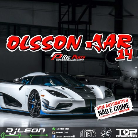 CD OLSSON CAR ESP.SERTANEJO VOL.14-Dj Leon Cba