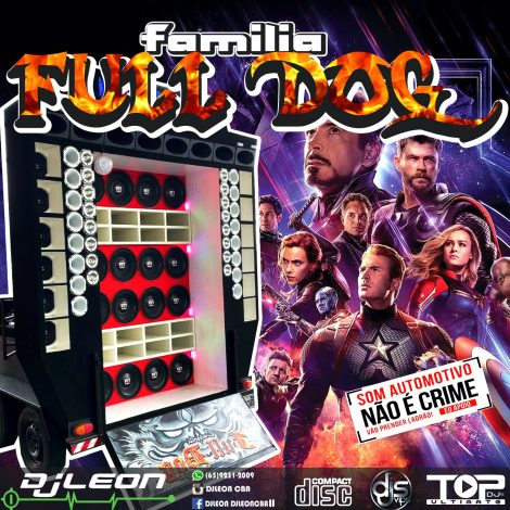CD FAMILIA FULL DOG ESP. NA BALADA- Dj Leon Cba