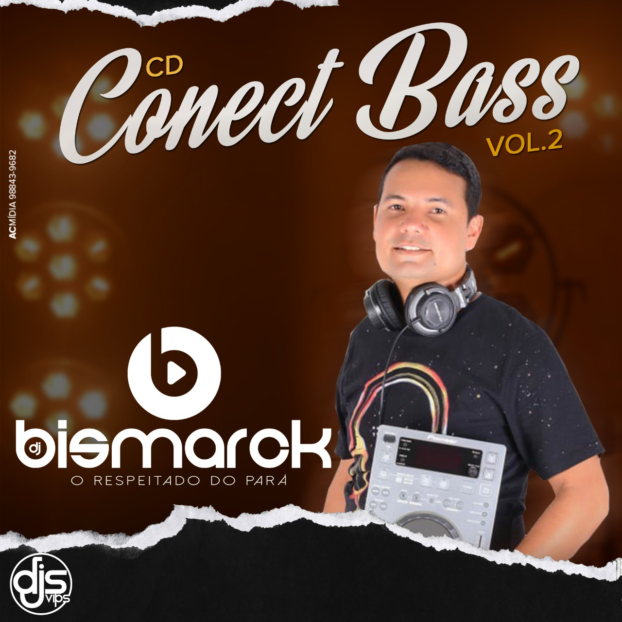 CD CONECT BASS VOL 2- DJ BISMARCK