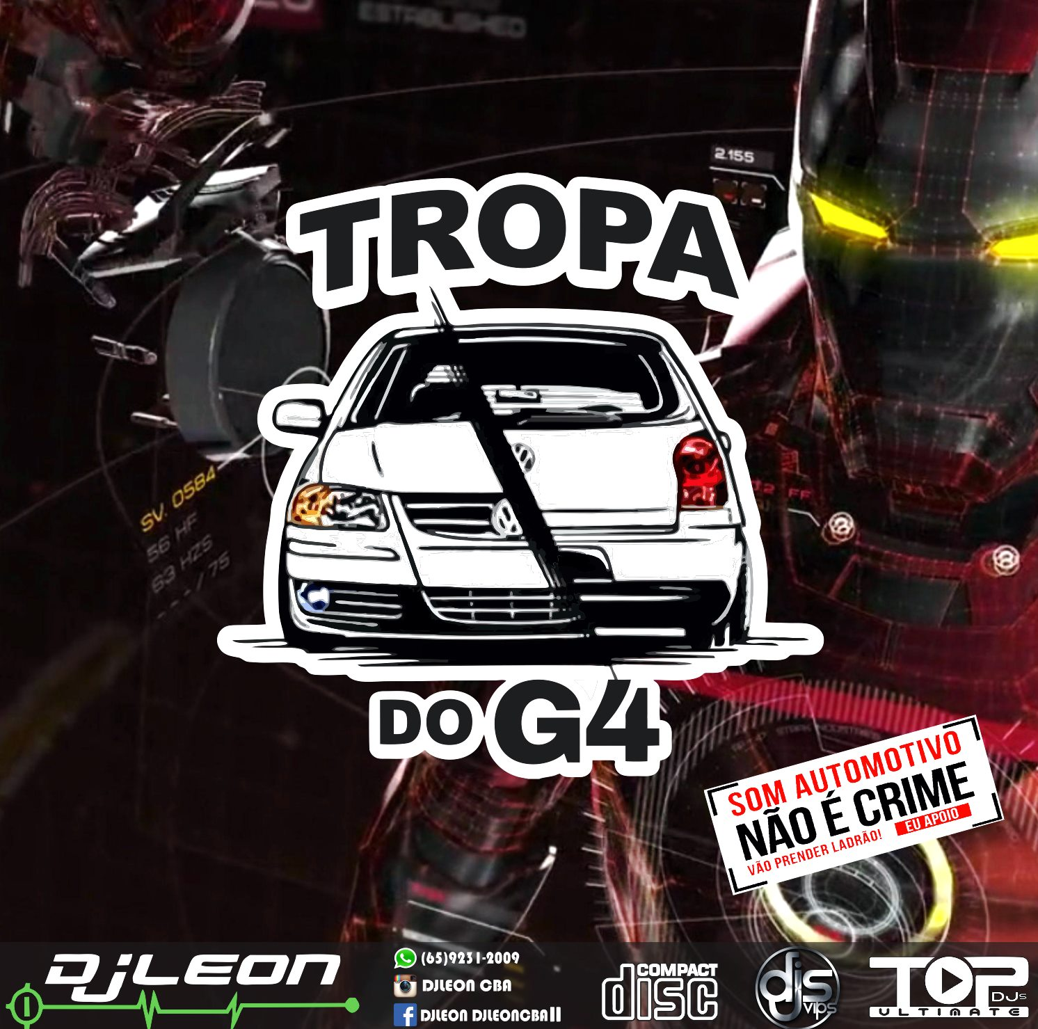 CD TROPA DO G4 – Dj Leon Cba