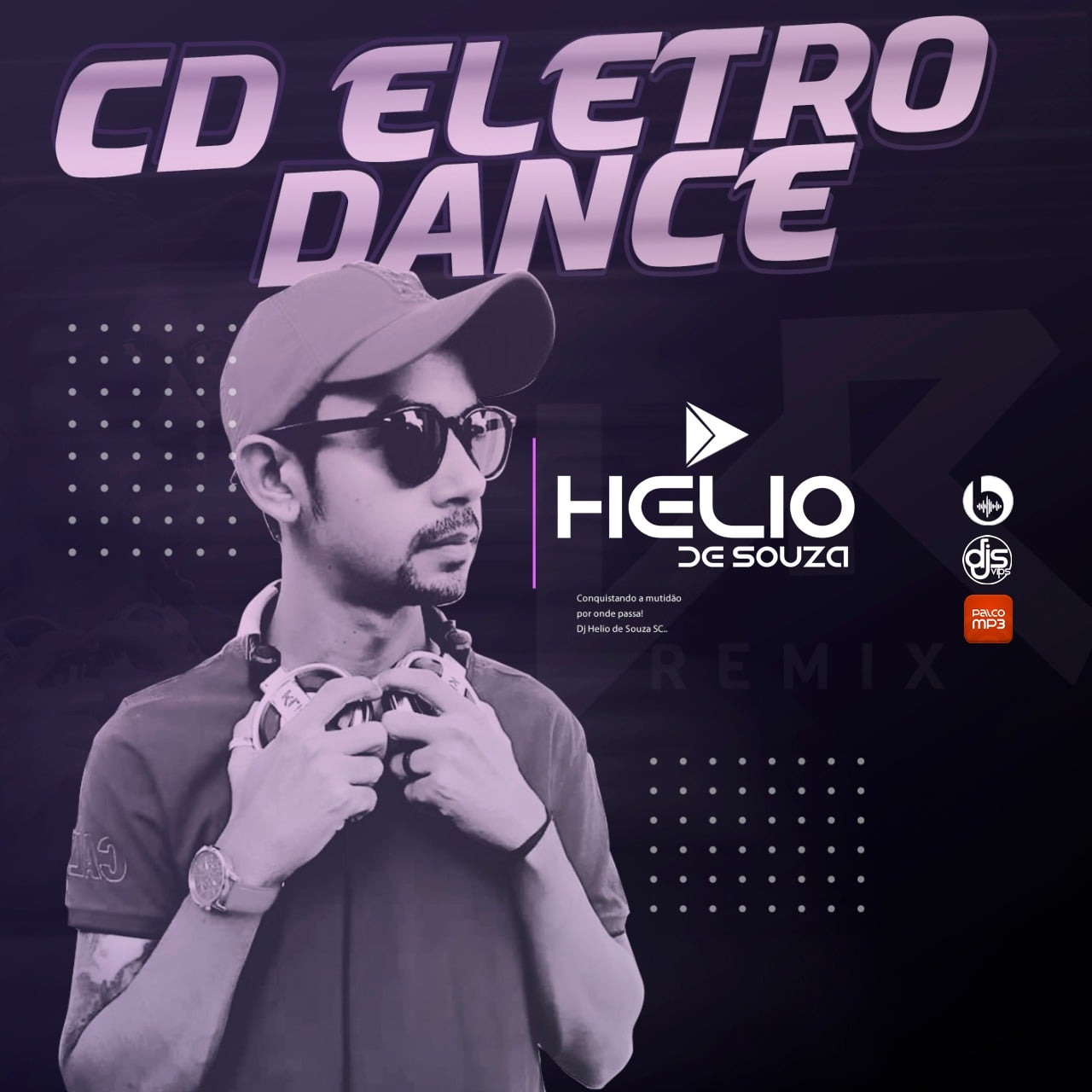 CD Eletro Dance Vol.01 – 2021 – DJ Helio De Souza SC [Retro]