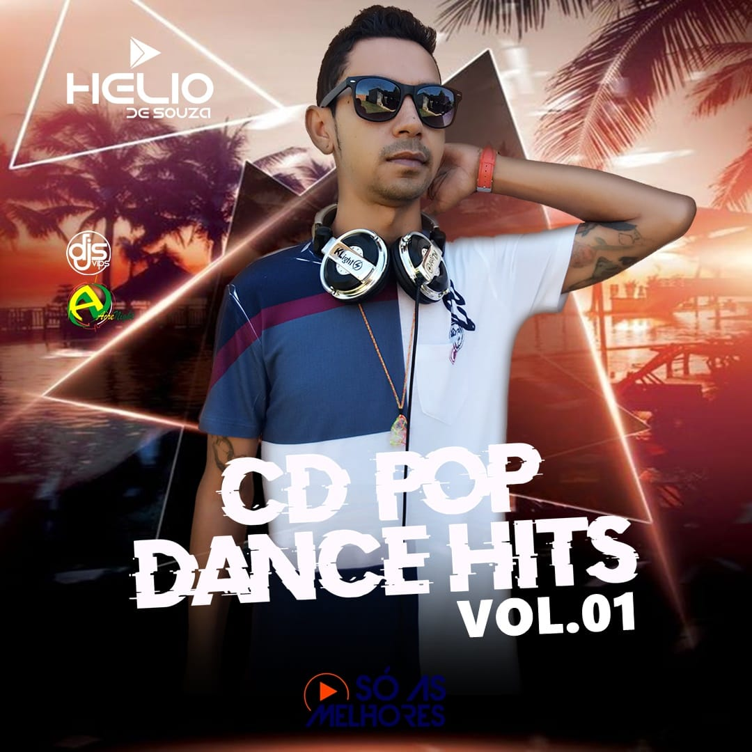 CD Pop Dance Hits 01 – DJ Helio De Souza