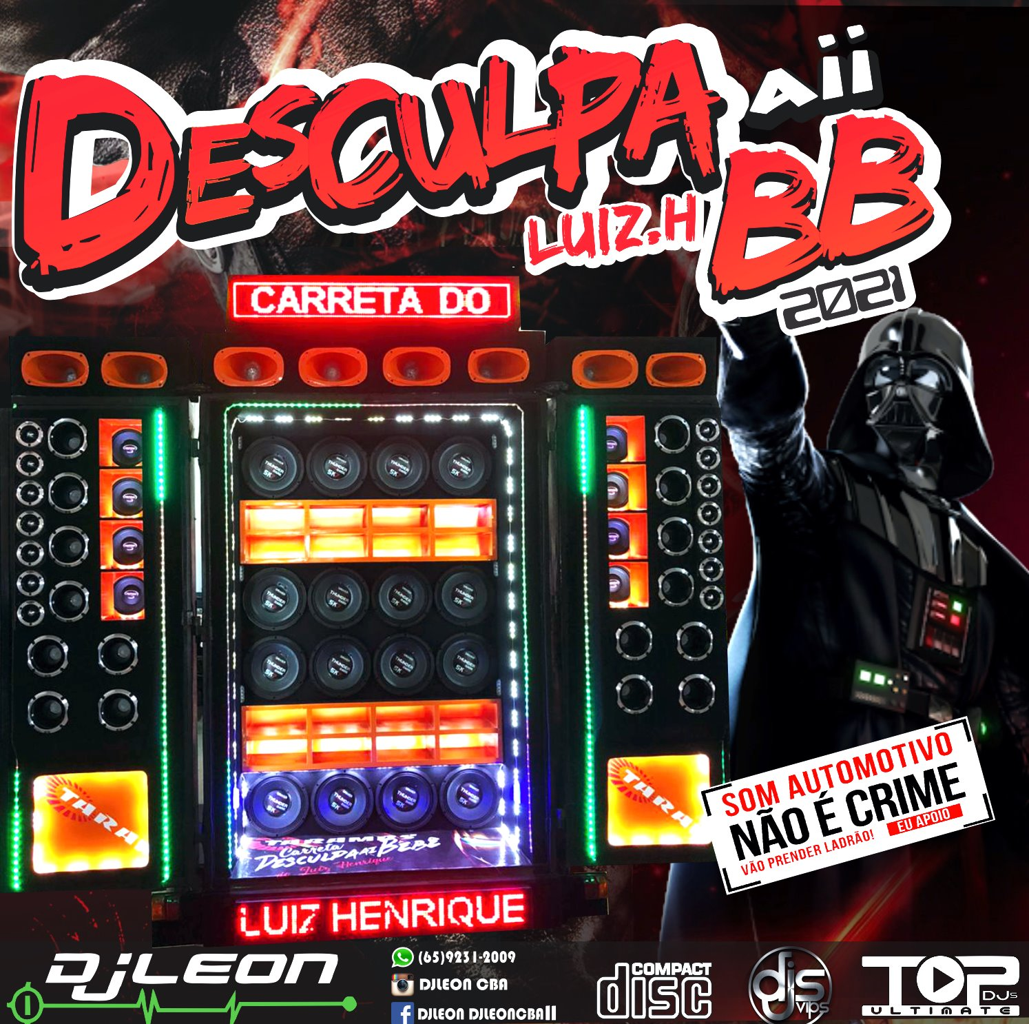 CD CARRETA DESCULPA AI BB 2021-Dj Leon Cba-MT