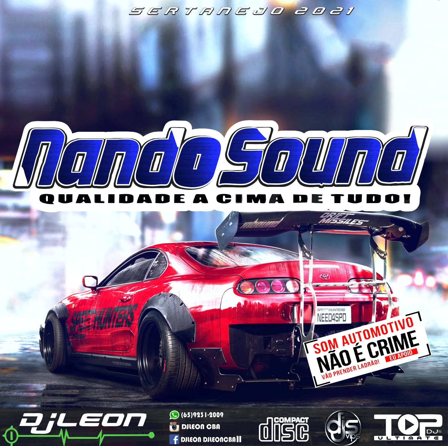 CD NANDO SOUND ESP.SERTANEJO 2K21-Dj Leon Cba